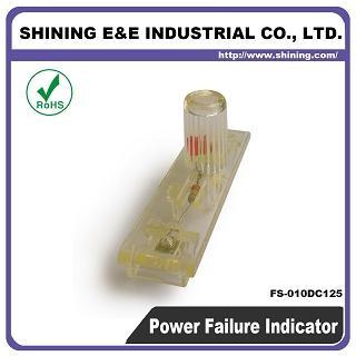 FS-010DC125 Đèn báo cầu chì ngắt nguồn DC 125V DC - Chỉ báo cầu chì FS-010DC125