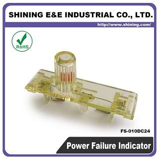 FS-010DC24 24V AC DC Power Off Failure Fuse Indicator - FS-010DC24 Fuse Indicator