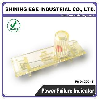 FS-010DC48 48V DC Power Off Failure Fuse Indicator - FS-010DC48 Fuse Indicator