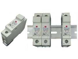Portafusibili 10x38 RT18-32 su guida DIN serie FS-03XL2 380V 32A - Portafusibili a cartuccia FS-031L2 e FS-032L2