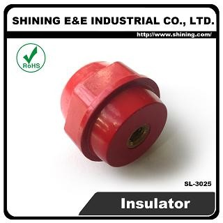 SL-3025 6 KV M6 Screw Low Voltage Standoff Insulator - SL-3025 Low Voltage Insulator
