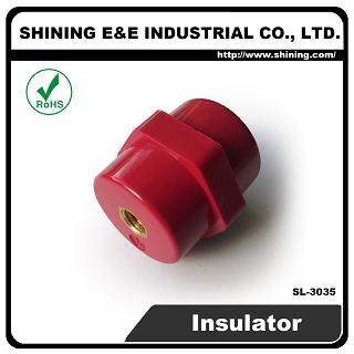 SL-3035 10KV M8 Screw Low Voltage Standoff Insulator - SL-3035 Low Voltage Insulator