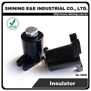 Skrutkový nízkonapäťový izolátor SL-3550 1,2KV M10 - Nízkonapäťový izolátor SL-3550