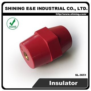 SL-3651 15KV M8 Screw Low Voltage Standoff Insulator - SL-3651 Low Voltage Insulator