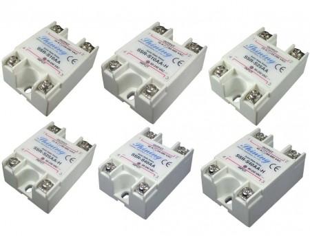 SSR-SXXAA系列AC - AC 单相固态继电器 - SSR-SXXAA系列AC - AC 单相固态继电器
