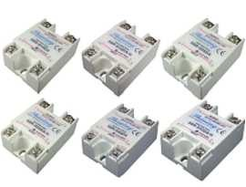 SSR-SXXDA Series Single Phase Solid State Relay, DC to AC - SSR-SXXDA Series DC to AC Type Single Phase Solid State Relay