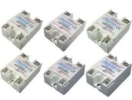 Jednofázové polovodičové relé série SSR-SXXDA, DC na AC - Jednofázové polovodičové relé typu DC to AC SSR-SXXDA