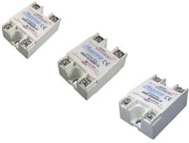 Jednofázové polovodičové relé série SSR-SXXDD-H, DC na DC - Jednofázové polovodičové relé typu DC to DC SSR-SXXDD-H