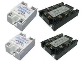 Solid State Relay များ၊ - Single Phase & Three Phase Solid State Relay တို့ဖြစ်သည်