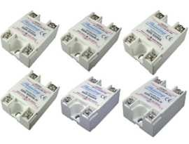 SSR-SXXVA Series Single Phase Solid State Relay, VR to AC - SSR-SXXVA Series VR to AC Type Single Phase Solid State Relay