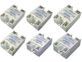 Jednofázové polovodičové relé série SSR-SXXVA, VR na striedavý prúd - Jednofázové polovodičové relé typu SSR-SXXVA typu VR na striedavý prúd