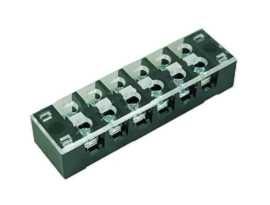 Morsettiere a barriera di tipo fisso con montaggio a pannello serie TB-325XXCP - TB-32506CP Morsettiere a barriera di tipo fisso montate su pannello