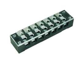 TB-335XXCP Series Panel Mounted Fixed Type Barrier Terminal Strips - TB-33507CP Panel Mounted Fixed Type Barrier Terminal Srtips