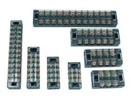Morsettiere a barriera di tipo fisso montate a pannello serie TB - Morsettiere a barriera di tipo fisso montate a pannello serie TB