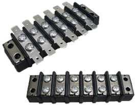 Терминални ленти с двойни бариери - Терминални ленти с двойни бариери