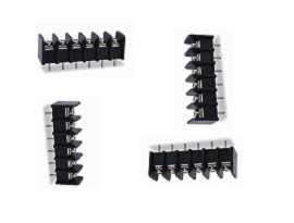 Radové svorkovnice typu PCB radu TBS-325XXCP s jedným radom - Jednoradové bariérové svorkovnice TBS-32506CP