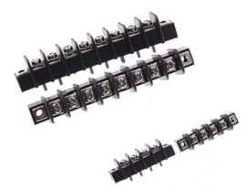 TBS-325XXCPAM Seires Jednoradové bariérové svorkovnice typu PCB - Jednoradové bariérové koncové bloky TBS-32504CPAM a TBS-32508CPAM