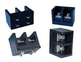 TBT-650XXACP Series PCB Type Single Row Barrier Terminal Blocks - TBT-65002ACP Single Barrier Terminal Blocks