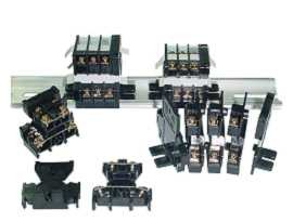 Koncové bloky s dvoma vrstvami (paluby) - Svorkovnice na dvojvrstvové (paluby) montované na lištu TD série 35 mm