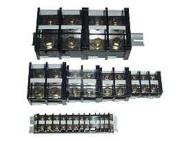 Koncové lišty montované na lištu DIN, 35 mm - Koncové lišty montované na lištu DIN, 35 mm