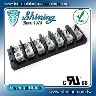 TGP-050-07A1 600V 50A 7 Pole Electrical Power Terminal Block - TGP-050-07A1 Power Terminal Block