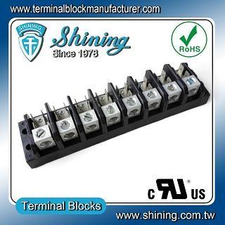 TGP-050-08A1 600V 50A 8 Pole Electrical Power Terminal Block - TGP-050-08A1 Power Terminal Block