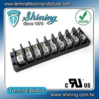 TGP-050-09A1 600V 50A 9 Pole Electrical Power Terminal Block - TGP-050-09A1 Power Terminal Block