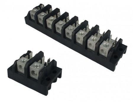 TGP-050-XXA 시리즈 전원 단자대 - TGP-050-02A 및 TGP-050-08A 전원 터미널 블록