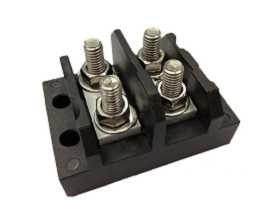 TGP-050-XXP Клеми за електрически захранващи клеми - TGP-050-02P Клеми за захранващ щифт