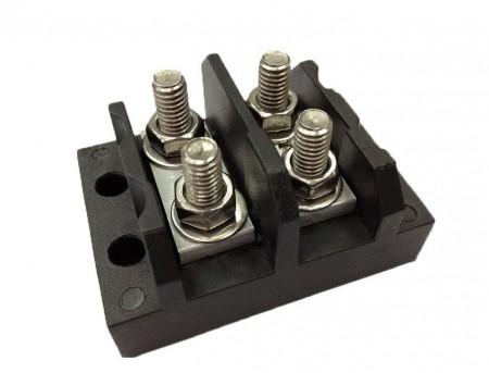 TGP-050-XXP系列 柱螺栓端子台 - TGP-050-02P 柱螺栓端子台