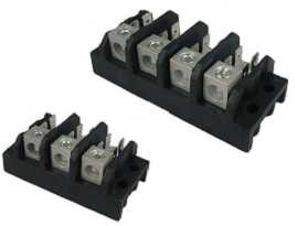 TGP-085-XXA Electrical Power Terminal Blocks - TGP-085-03A & TGP-085-04A Power Terminal Blocks