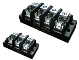 TGP-085-XXA1 Electrical Power Terminal Blocks - TGP-085-03A1 & TGP-085-04A1 Power Terminal Blocks