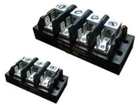 Svorkovnice elektrického napájania TGP-085-XXA1 - Svorkovnice napájania TGP-085-03A1 a TGP-085-04A1