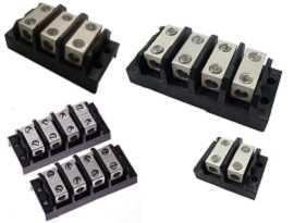 Клемни блокове за захранващ спликер - Клемни блокове за захранващ спликер