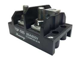 TGP-085-XXOS Electrical Power Splicer Stud Terminal Blocks - TGP-085-02O Power Splicer Stud Terminal Blocks