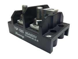 TGP-085-XXOS Electrical Power Splicer Stud Terminal Blocks - TGP-085-02O Power Splicer Stud Terminal Blocks