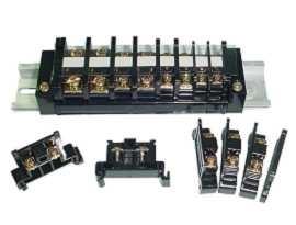 TR Series 35mm Rail Mounted Snap On Type Terminal Block Connector - TR Series 35mm Din Rail Mounted Clip Type Terminal Blocks