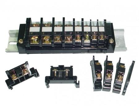 TR系列 軌道固定式端子台 - TR系列 35mm軌道固定式端子台