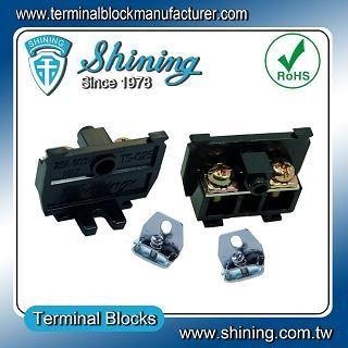 TS-025 25 мм Din монтиран на релса тип касета тип 600V 25A