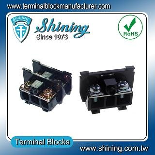 TS-035 25mm Din Rel Mounted Cassette Type 600V 35A Terminal Connector - TS-035 35A Din Rail Terminal Penyambung