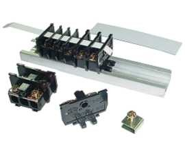 Connettore terminale a cassetta montato su guida DIN da 25 mm serie TS - Morsettiere a cassetta montate su guida DIN da 25 mm serie TS