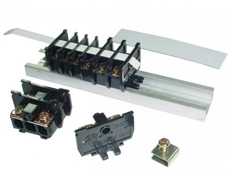 TS 시리즈 트랙 스프링 일본어 단자대 - TS 시리즈 35mm 스프링 트랙 터미널 블록