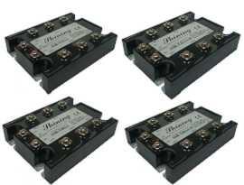Trojfázové polovodičové relé SSR-TXXAA, striedavé napätie - Trojfázové polovodičové relé typu SSR-TXXAA typu AC na AC
