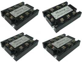 SSR-TXXDA Series Three Phase Solid State Relay, DC to AC - SSR-TXXDA Series DC to AC Type Three Phase Solid State Relay