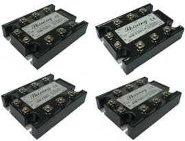 Trojfázové polovodičové relé série SSR-TXXDA, DC na AC - Trojfázové polovodičové relé typu DC to AC SSR-TXXDA