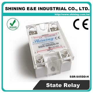 SSR-S05DD-H DC to DC 5A 120VDC Single Phase Solid State Relay