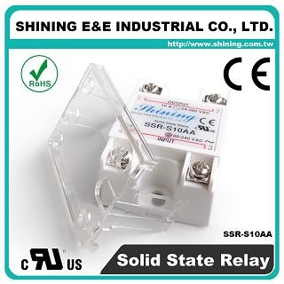 SSR-S10AA AC to AC 10A 280VAC Single Phase Solid State Relay