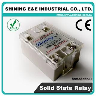 SSR-S10DD-H DC to DC 10A 120VDC Single Phase Solid State Relay