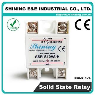 SSR-S10VA-H VR to AC 10A 480VAC Single Phase Solid State Relay