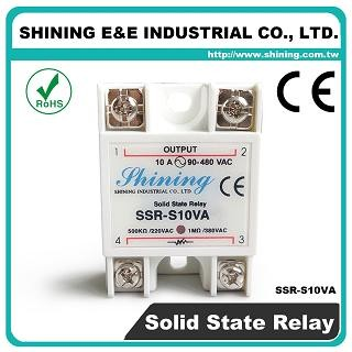 SSR-S10VA VR to AC 10A 280VAC Single Phase Solid State Relay